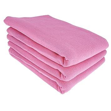 3x Geschirrtücher Küchentücher Putztücher Poliertücher 100/% Baumwolle lila