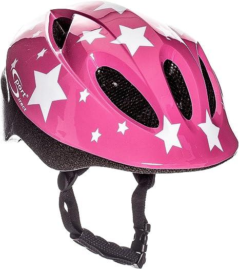 Sport Direct - Casco de bicicleta para niña, diseño de estrellas ...