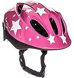 Sport Direct™ Rosa Estrellas Niños Niñas Casco De Bicicleta Rosa 48-52cm CE EN1078:2012+A1:2012