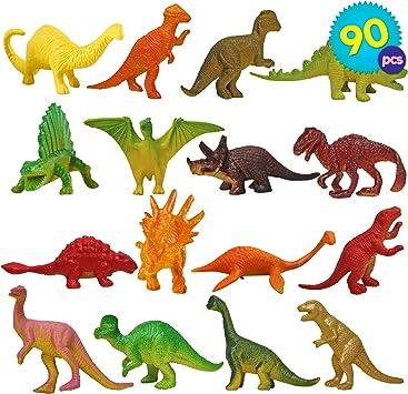 90pcs Dinosauri Giocattolo   Dinosauro in Plastica   Assortite Di Mini Jurassic World Giocattoli Set   Dino Playset Festa Compleanno Halloween