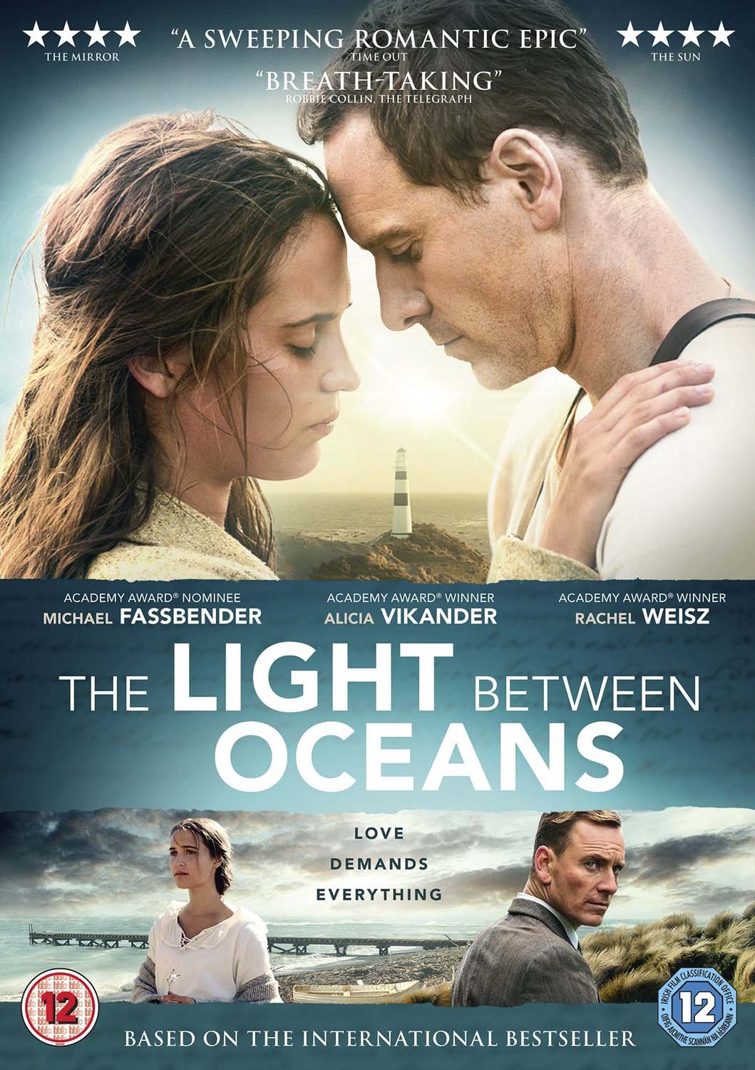 The Light Between Oceans [DVD]: Amazon.co.uk: Michael Fassbender ...