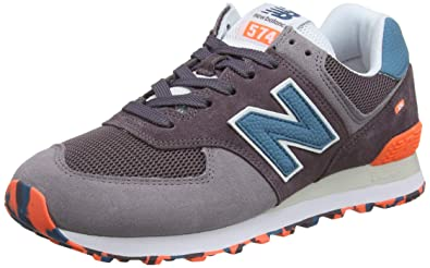 New Balance 574 Marbled Street, Les Formateurs Homme: Amazon