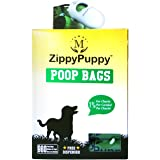 960 Biodegradable Dog Poop Bags with a Stylish Universal Dispenser ($5.99 Value Included) with 64 Refill Rolls. Bags are 15 M