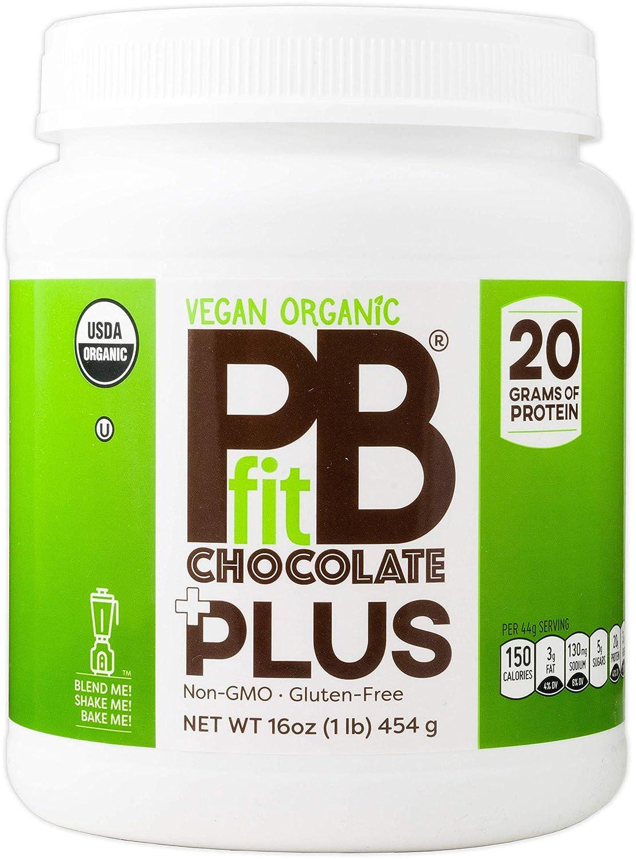 ff9863403 Amazon.com   PBfit Vegan Organic Chocolate Plus
