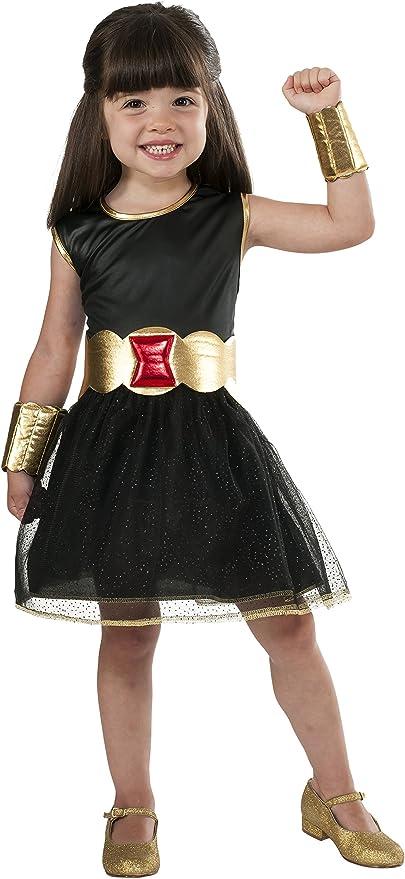 Rubies s oficial Marvel Negro Viuda Vestido con tutú para niñas ...