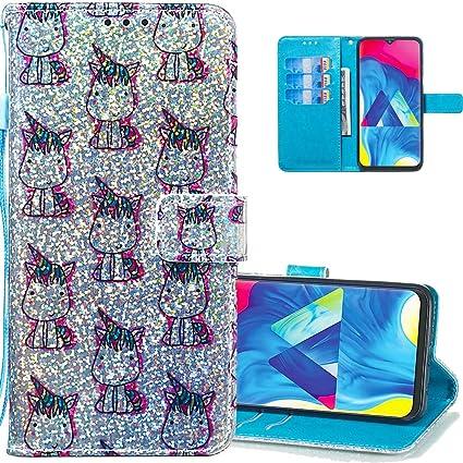 Amazon.com: LEECOCO - Carcasa fina para Samsung Galaxy A20 y ...
