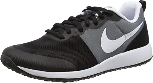 Nike Mens Elite Shinsen Black White Mesh Trainers