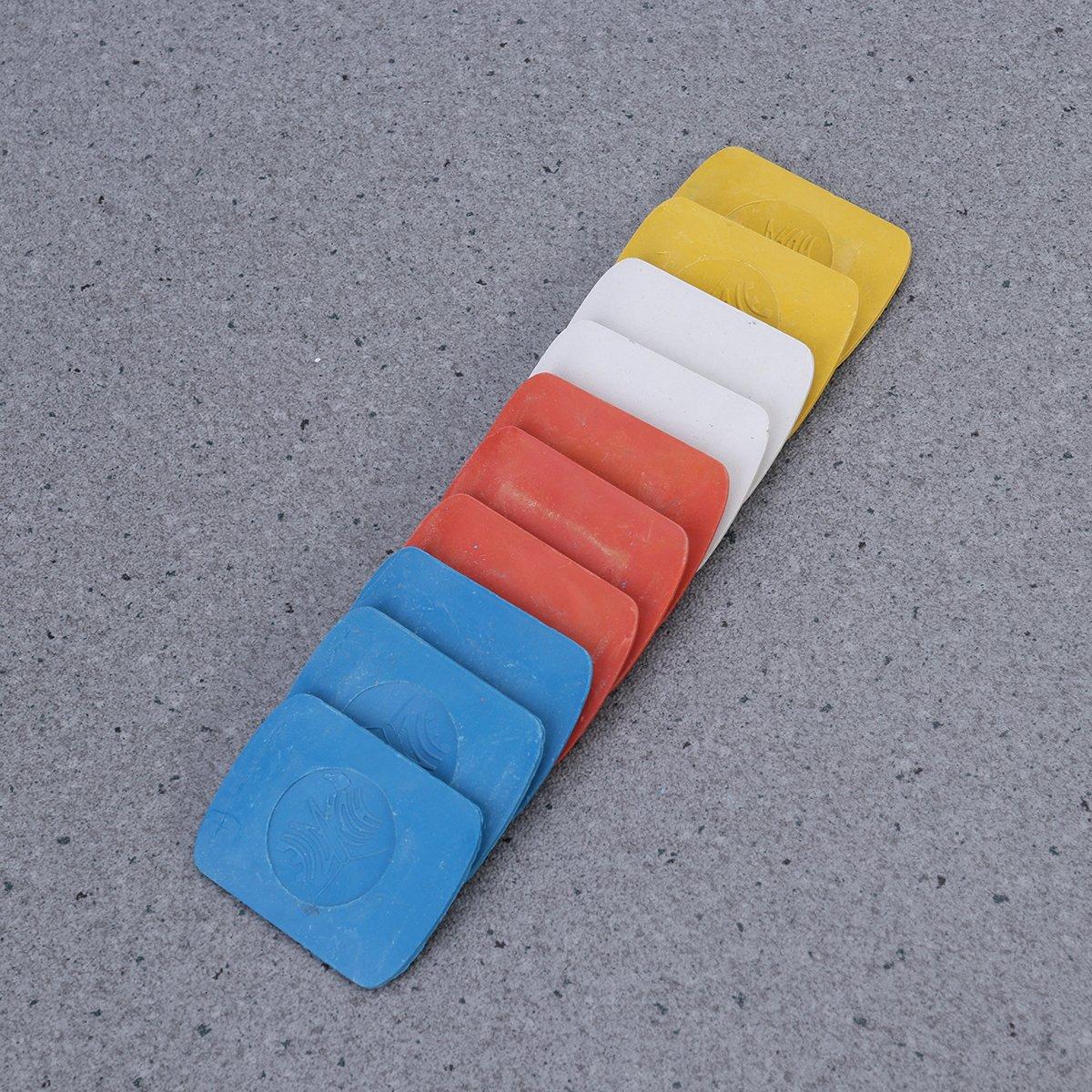 ULTNICE 10 unids tiza de sastrer/ía para coser telas de marca de modistas para hacer bricolaje coser piezas de repuesto