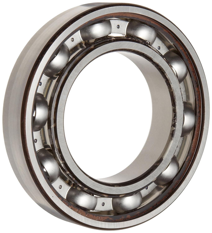 8130 lbs Dynamic Load Capacity Open 18 mm Width 4460 lbs Static Load Capacity 40 mm ID Timken 208K Ball Bearing Max RPM No Snap Ring Metric 80 mm OD