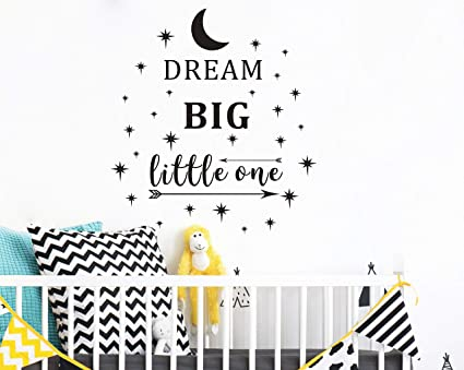 Amazoncom Dream Big Little One Wall Decal Wall Sticker Quote