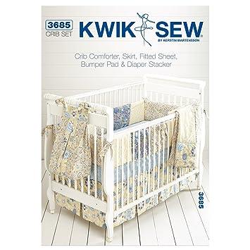 Kwik Sew Mustern K3685 Größe für Babybettchen á 28 x-52 Kinderbett ...