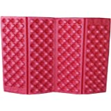 Suitable for Backpack//Hiking//snowwalking//Camping//Hiking LotCow 5 Pcs Outdoor Foldable Foam Cushion Four-fold Folding Ultra-Light Cushion Portable Moisture-Proof Picnic Mat Butt Pad