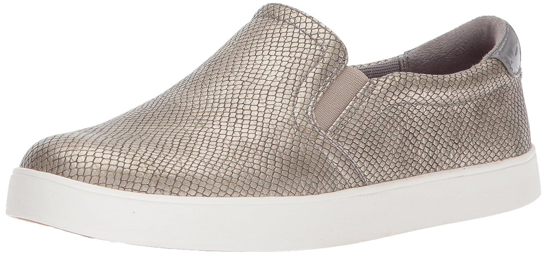 Dr. Scholl's Women's Madison Fashion Sneaker B074ZXN9P9 6 B(M) US|Pewter Snake Metallic Print