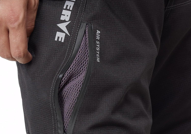Nerve Touring Spider Pantalones de Moto con Tirantes XXL Negro