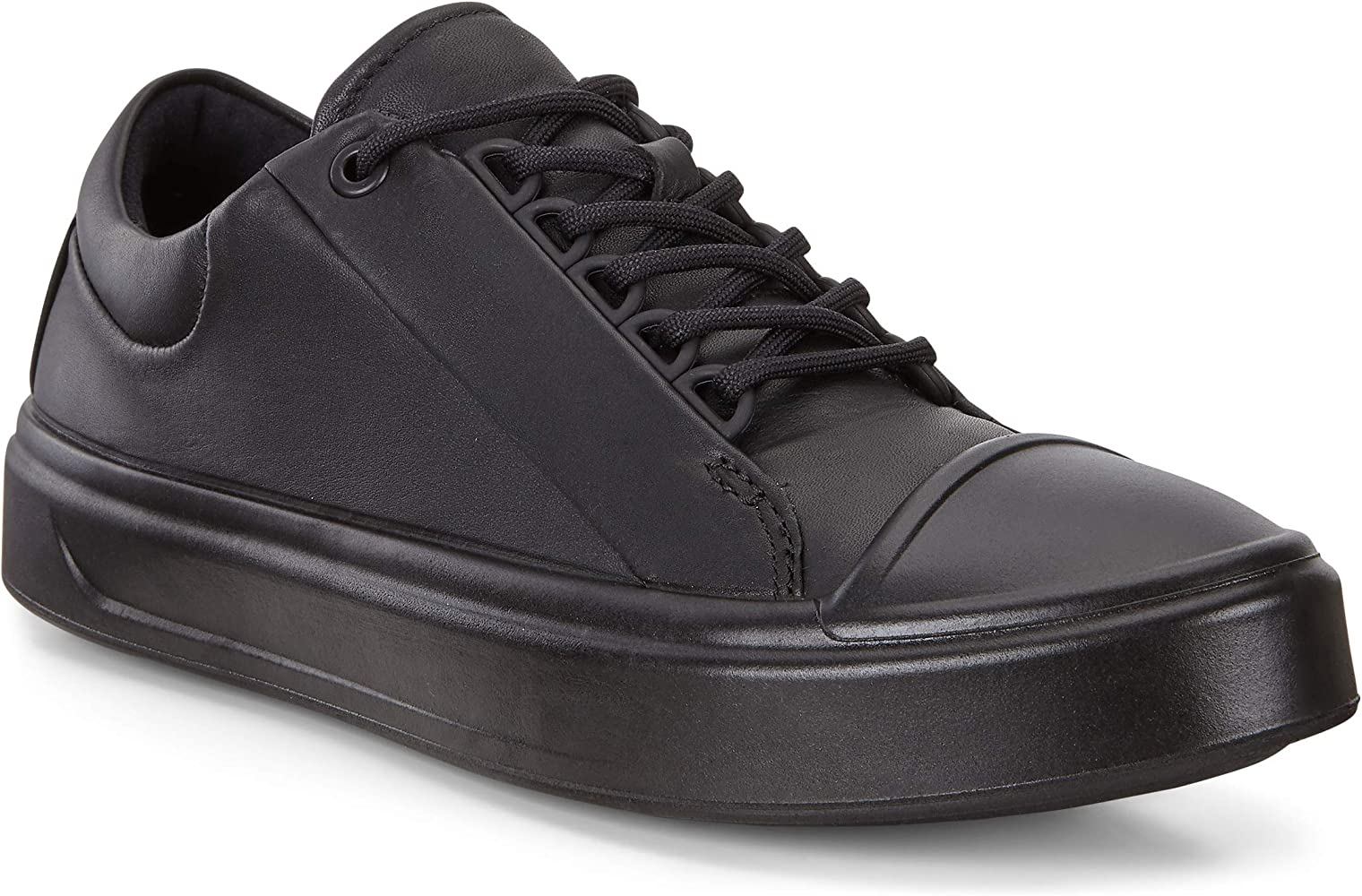ECCO Women's Flexure T Cap W Low Top Sneakers, Black (Black