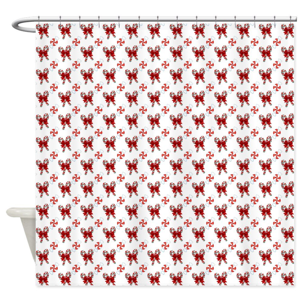Amazon CafePress Christmas Candy Cane Shower Curtain Decorative Fabric 69x70 Home Kitchen