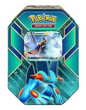 The Pokémon Company - Caja metálica Leyendas de Hoenn: Amazon.es: Juguetes y juegos