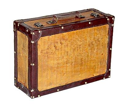 amazon com quickway imports old vintage suitcase medium kitchen