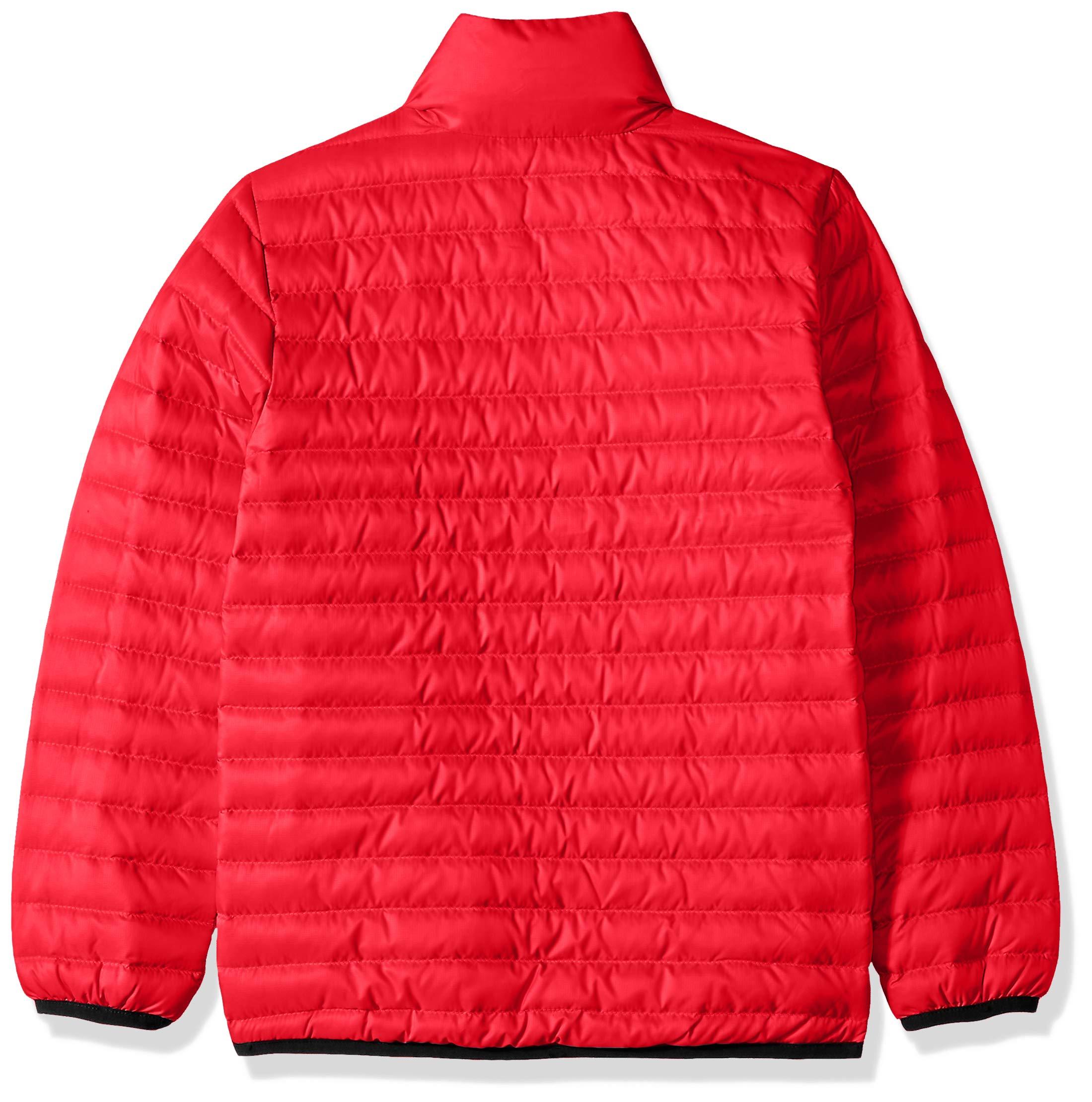 Helly Hansen Jr Barrier Down Insulator Jacket, Goji Berry, Size 12 by Helly Hansen (Image #2)