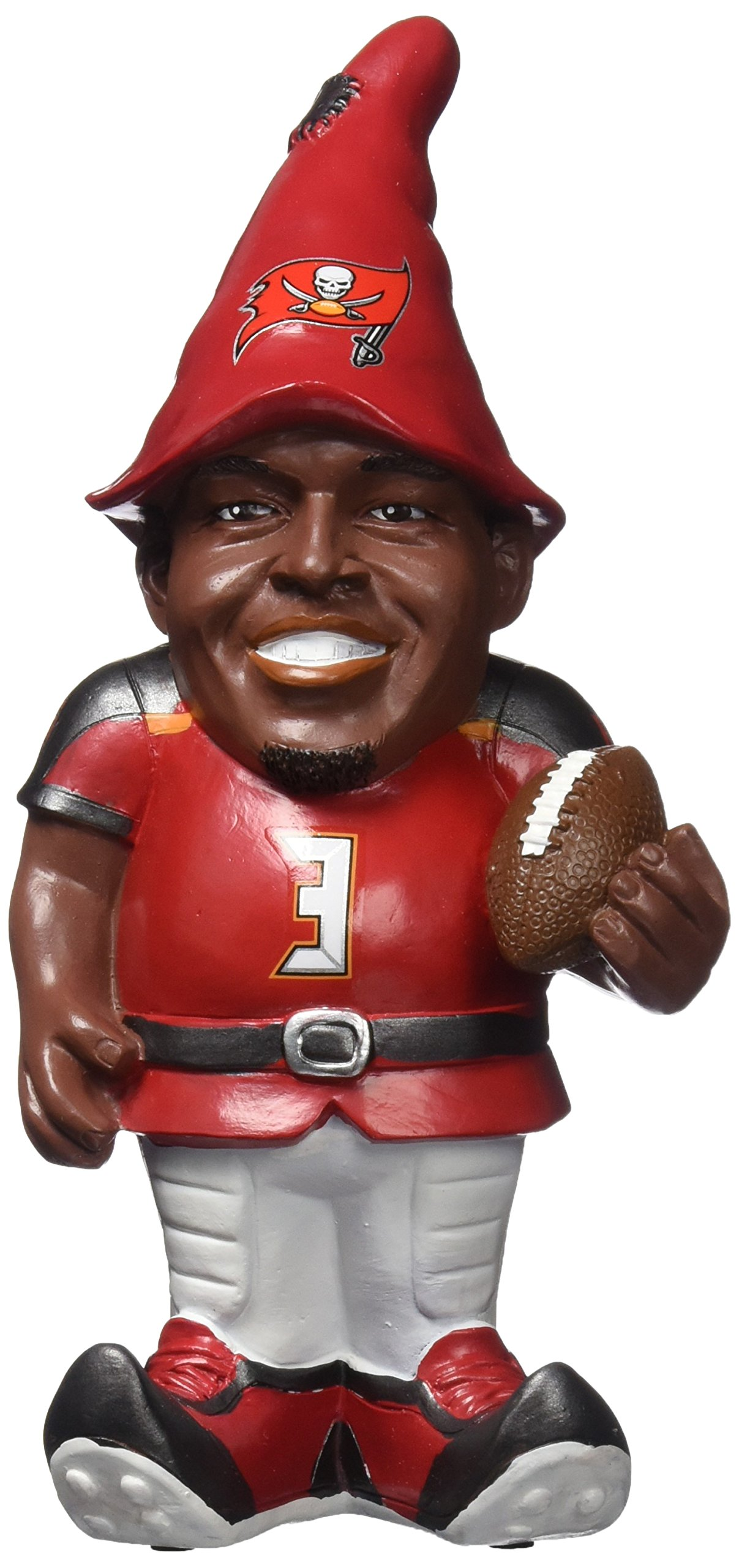 FOCO Tampa Bay Buccaneers Winston J. #3 Resin Player Gnome