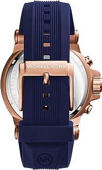 Michael Kors Reloj Cronógrafo para Hombre de Cuarzo con Correa en Silicona MK8295