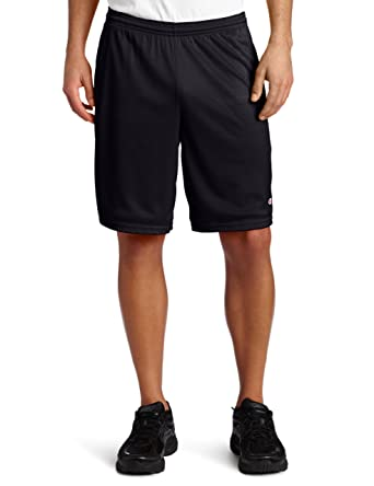 ce10c6ca9995 Amazon.com  Champion Men s Long Mesh Short with Pockets  Clothing