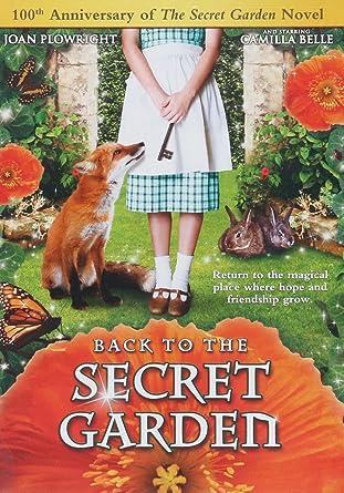 Amazon.com: Back to the Secret Garden: Joan Plowright, Cherie Lunghi ...