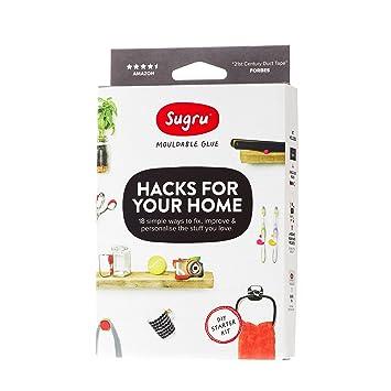 Amazon.com: Sugru Hacks for Your Home pegamento maleable ...