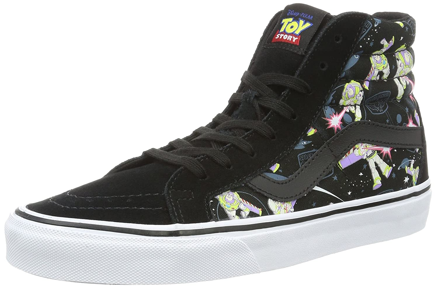 VANS MENS SK8 HI REISSUE LEATHER SHOES B01DYW0D5C 5 D(M) US|(Toy Story) Buzz Lightyear/True White