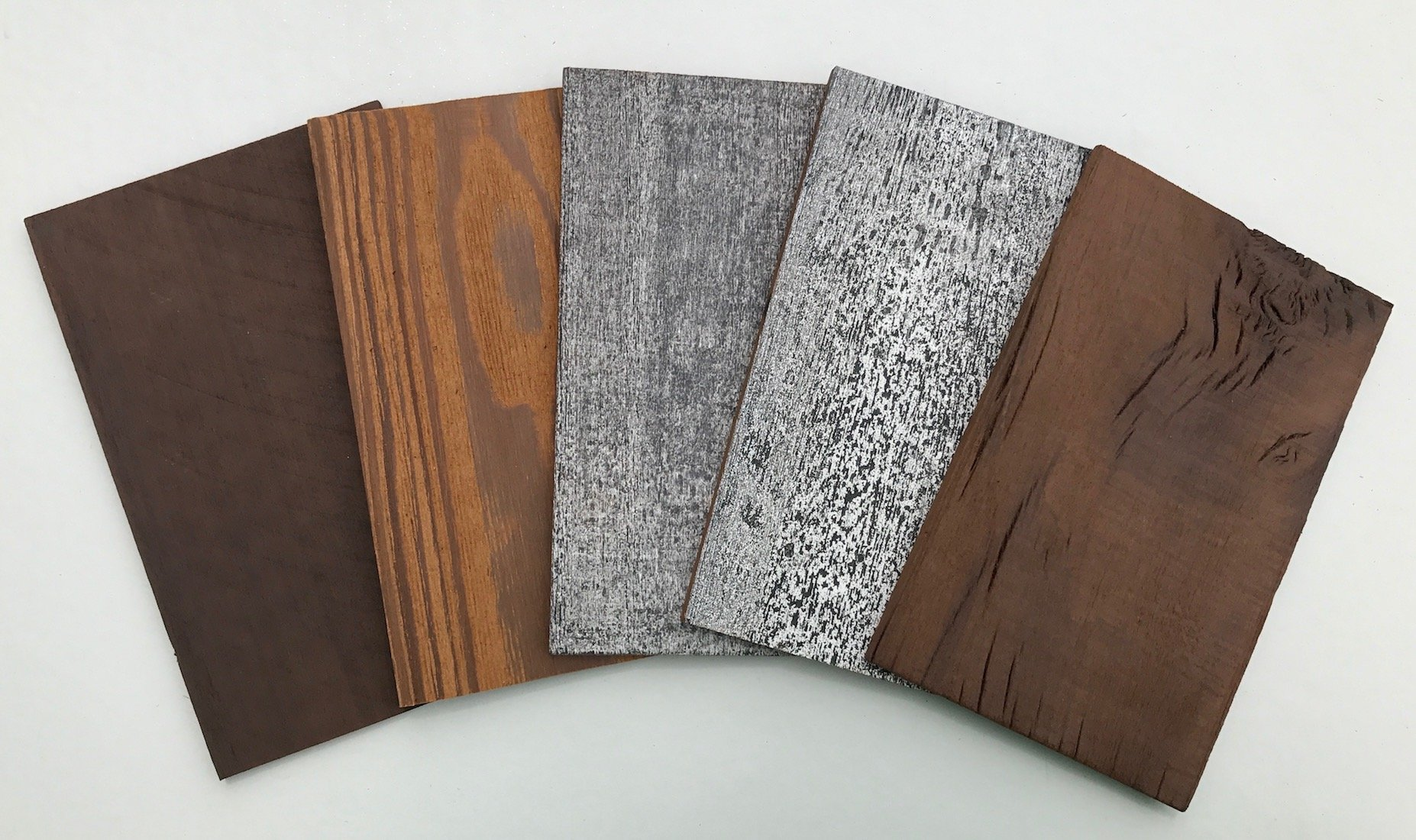 Samples of Smart Paneling 3D Wood Wall Planks 1/4 in. x 5 in. x 8 in. (5 - Case)