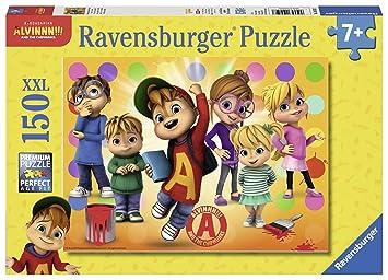 Alvin und die Chipmunks Puzzle 3 X 49 Teile Spiel Deutsch 2018 Puzzles & Geduldspiele Geduldspiel