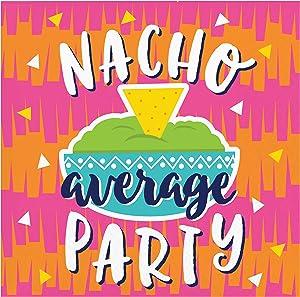 Fiesta Fun Nacho Beverage Napkins, 48 ct
