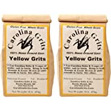 Carolina Grits Company Traditionally Stone Ground Yellow Grits, 2 Packs
