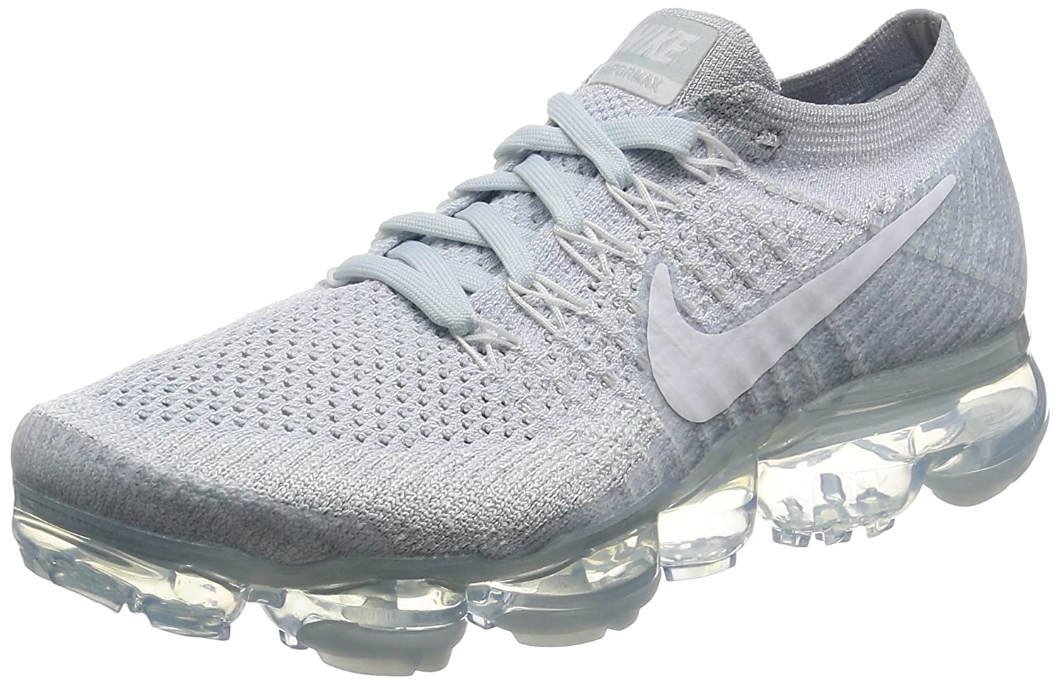 pretty nice 94f76 ff298 Amazon.com   Nike Womens Air Vapormax Flyknit Violet Dust Violet Dust Woven  Size 8   Road Running
