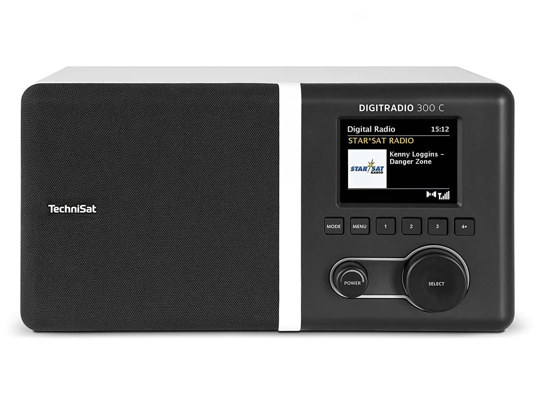 TechniSat DIGITRADIO 300 C (DAB+/UKW Radio Mit Spitzenklang Durch Equalizer  Und Integrierte Bassreflextube