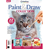 Paint & Draw Watercolours : 37 Amazing Tutorials (The Creative Collection Book 2)