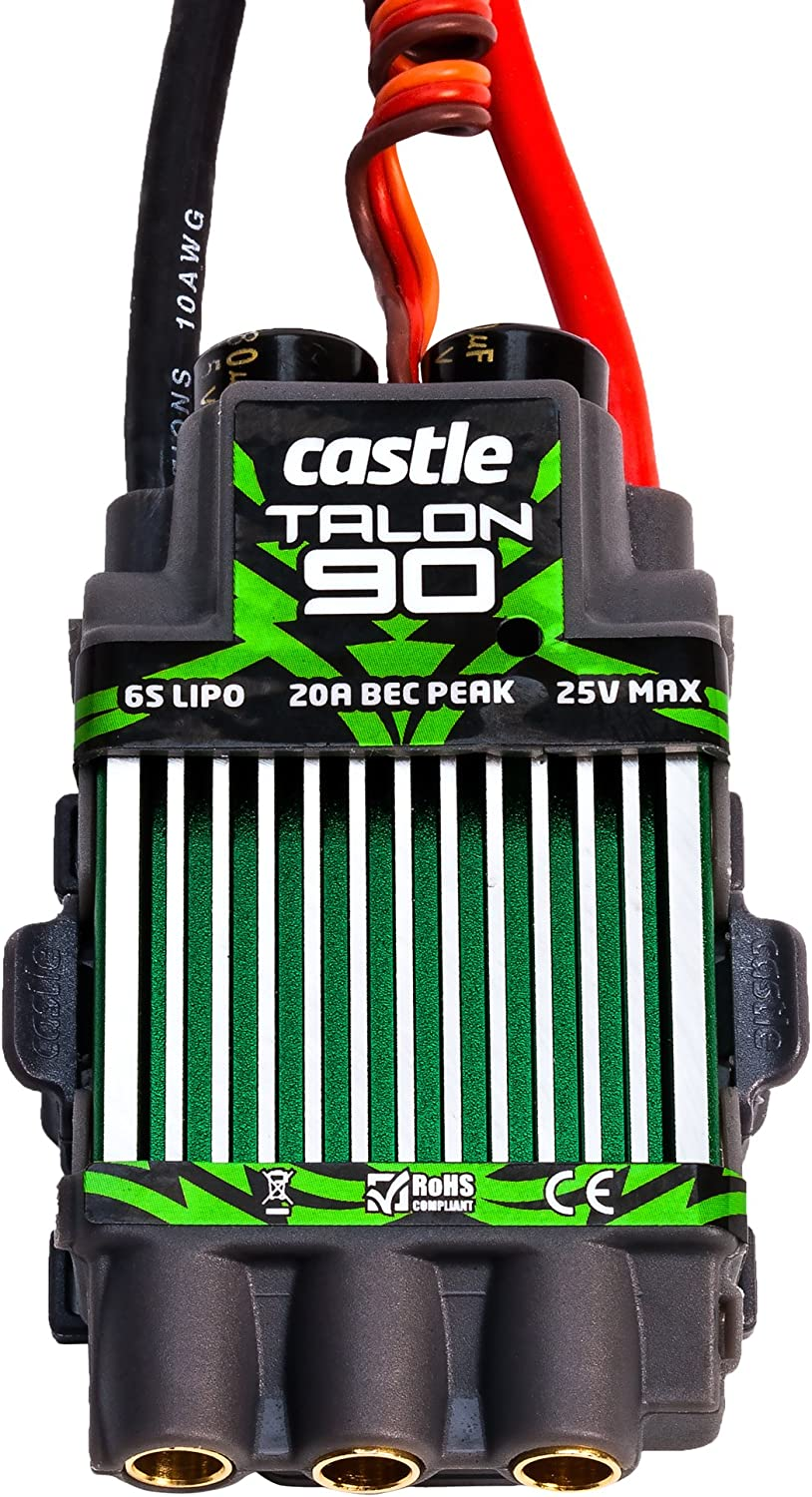 Castle Creations Talon 90 Amp Electronic Speed Controller with Heavy Duty BEC 81mfuWB0MtLSL1500_