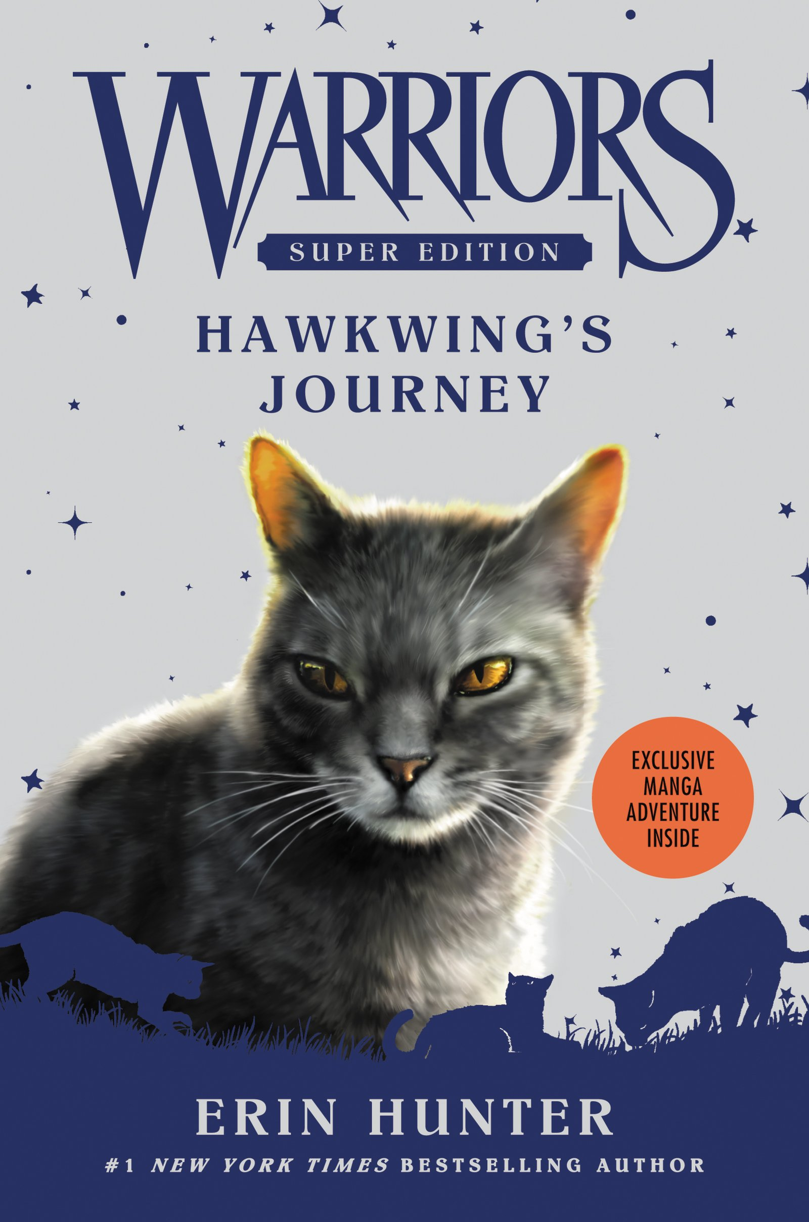 Warriors Super Edition: Hawkwing's Journey: Erin Hunter, James L Barry:  9780062467690: Amazon: Books