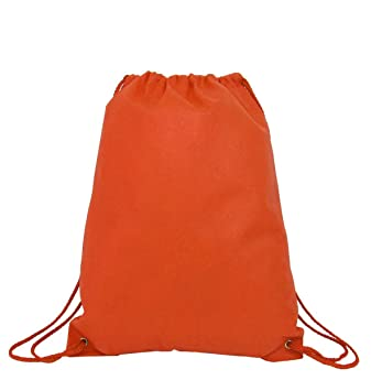 d63cb2eb5d Pack of 12 Budget Friendly Non-Woven Polypropylene Promo Drawstring Bags