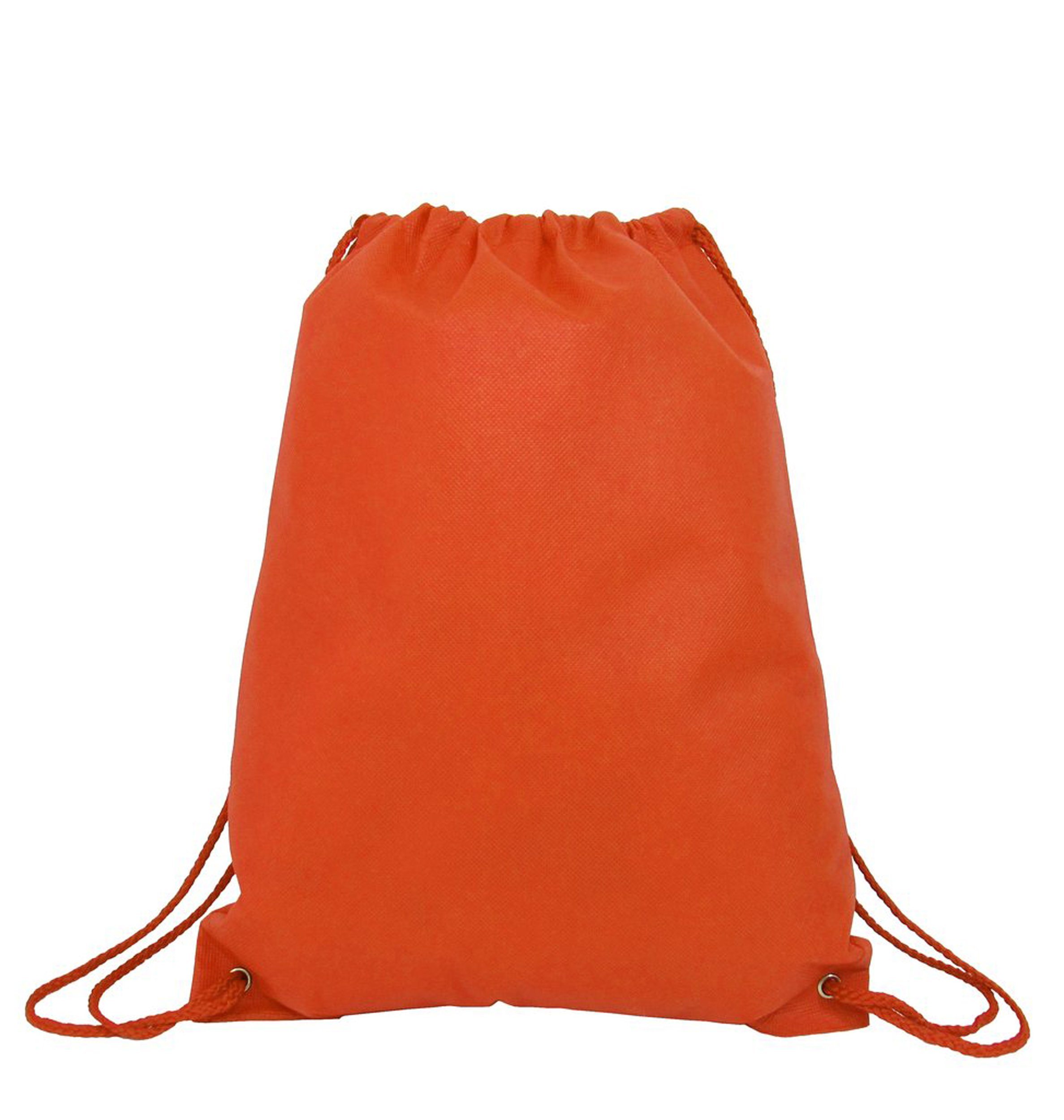 100 PACK - Multipurpose Non Woven Well Made Drawstring Backpack Bags