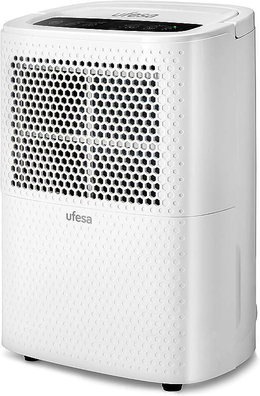 Ufesa DH5010 - Deshumidificador 200 W, Silencioso con Panel ...