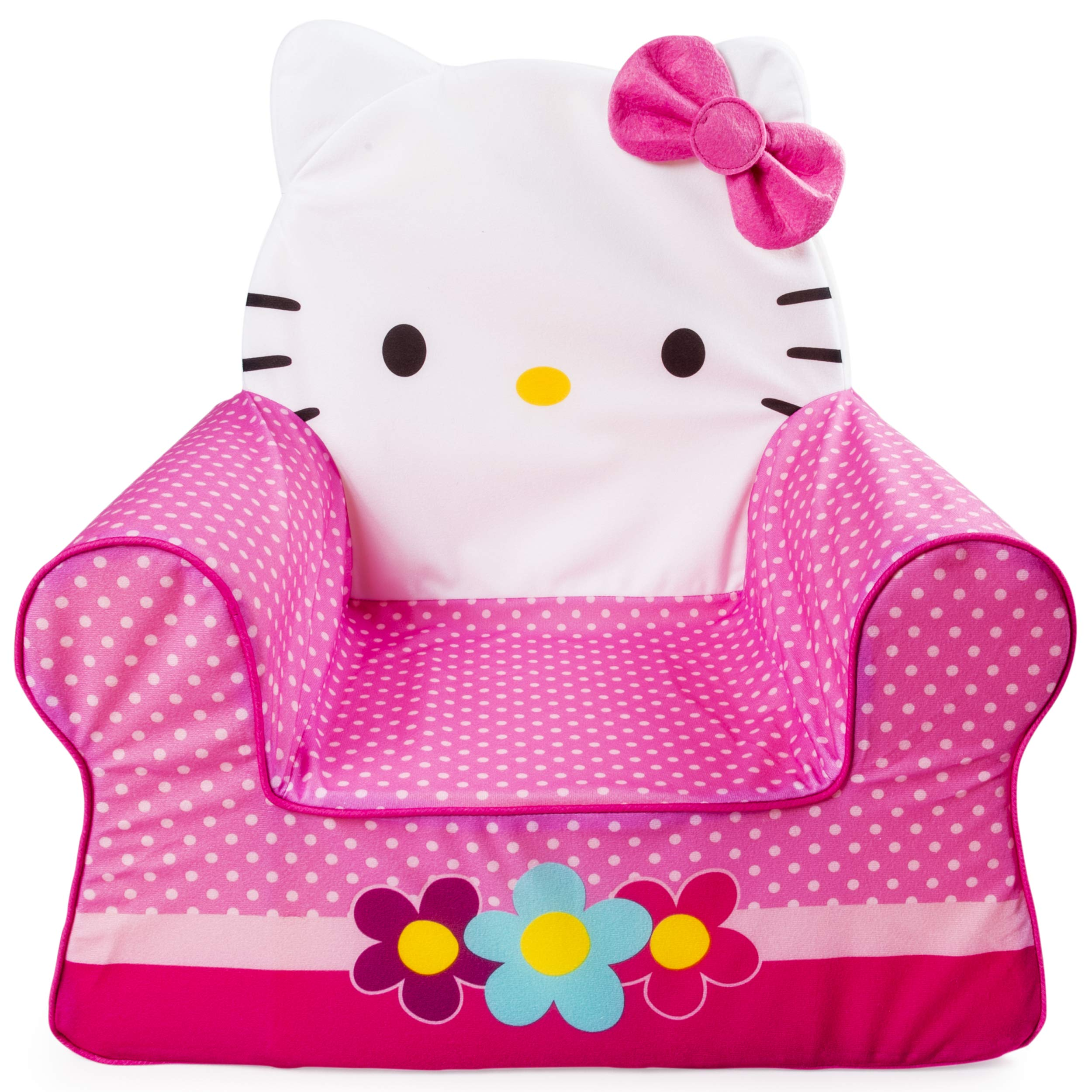 Marshmallow Furniture, Children's Foam Comfy Chair, Hello Kitty, by Spin Master by Marshmallow Furniture