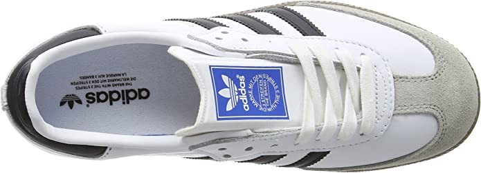 ADIDAS ORIGINALS Herren Samba OG Sneaker , Elfenbein (Ftwr