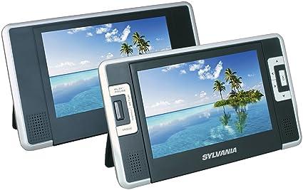 amazon com sylvania sdvd8732 7 inch dual screen portable dvd player rh amazon com Instruction Manual Example User Guide