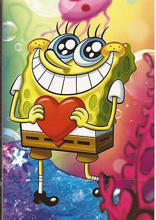 Geburtstagskarte   In Love   Spongebob Schwammkopf 49 1959: Amazon