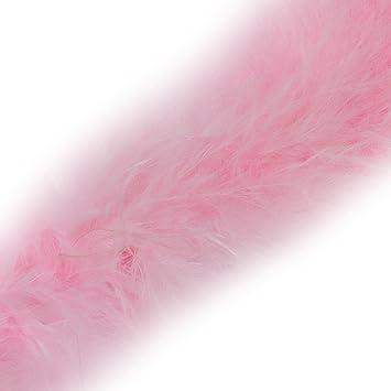 Marabou Swansdown Feather Trim Soft /& Fluffy Craft Choose Colour Lilac 1 Metre