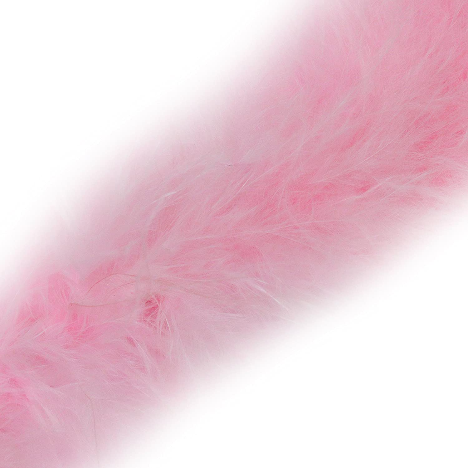 1 Metre - Marabou Swansdown Feather Trim Soft & Fluffy Craft - Choose Colour (Turquoise) Diamante Crafts