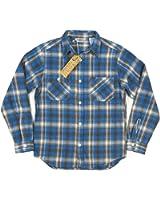 (ファイブブラザー)FIVE BROTHER チェック エクストラ ヘビーネルシャツ 1515080 Made in INDIA