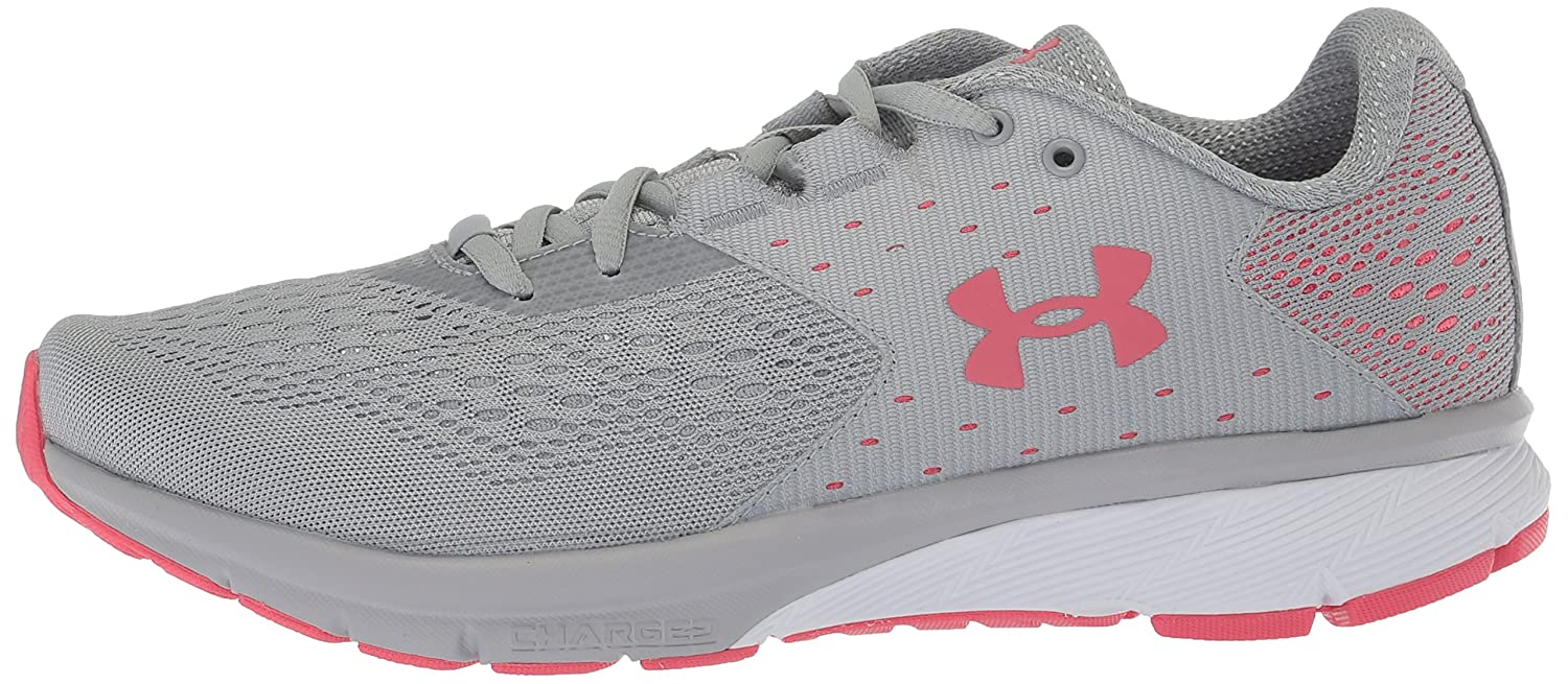 Under Armour Women's Charged Rebel Running Shoe B071S917S7 7.5 M US|Overcast Gray (102)/Success