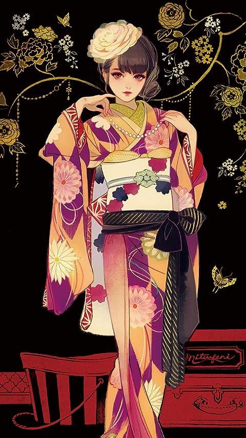 マツオヒロミ おめかし XFVGA(480×854)壁紙画像
